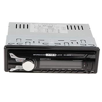 D DOLITY Autoradio Bluetooth Coche, Pantalla LCD, USB/SD/AUX/FM/TF/Reproductor de MP3 Player con Control Remoto Inalámbrico: Amazon.es: Electrónica
