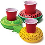 BigMouth Inc. Inflatable Pool Party Drink Floats - Tropical 3 Pack!