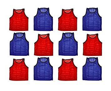 BlueDot Trading Adult Scrimmage Training Vests Multiple Colors and Quantities