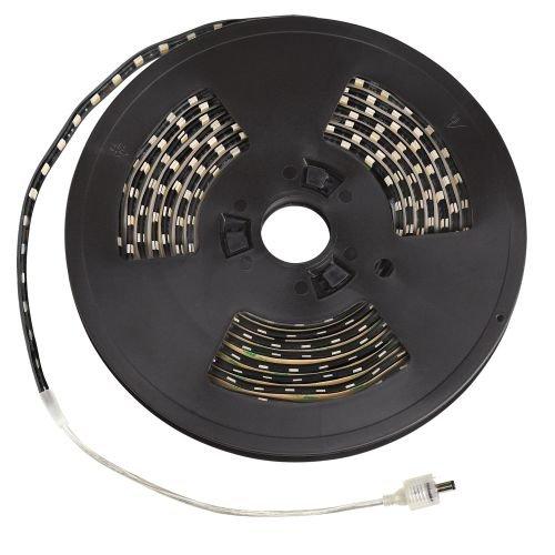 Kichler Lighting 320HYBK Task Work LED 20-Feet 24V High Output Outdoor Wet Tape Light, Black Tape with Yellow LED