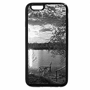 iPhone 6S Plus Case, iPhone 6 Plus Case (Black & White) - Beautiful Place