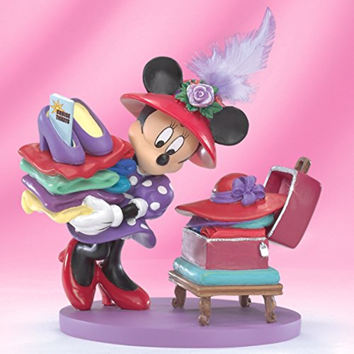 Bradford Exchange The Disney's Minnie Mouse Set Sail for Fun Figurine