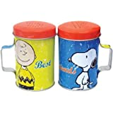 WL SS-WL-20791 Snoopy & Charlie Brown Colorful Salt & Pepper Shakers