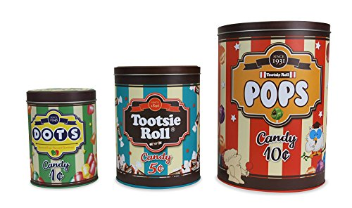 BigMouth Tootsie Storage Canister Multicolor