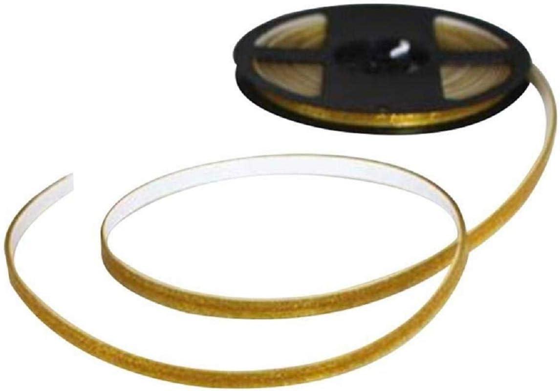 Keramikfliesen Mildewproof Gap Tape,wasserdichte Folie Streifen 6.2mm,silver Wandfliesen Boden L/ücke Dichtungsband Wasserdichte Streifen Selbstklebende Home Deco