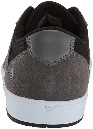 Emerica Heren Dissidentie Skate Schoen Grijs / Zwart / Wit