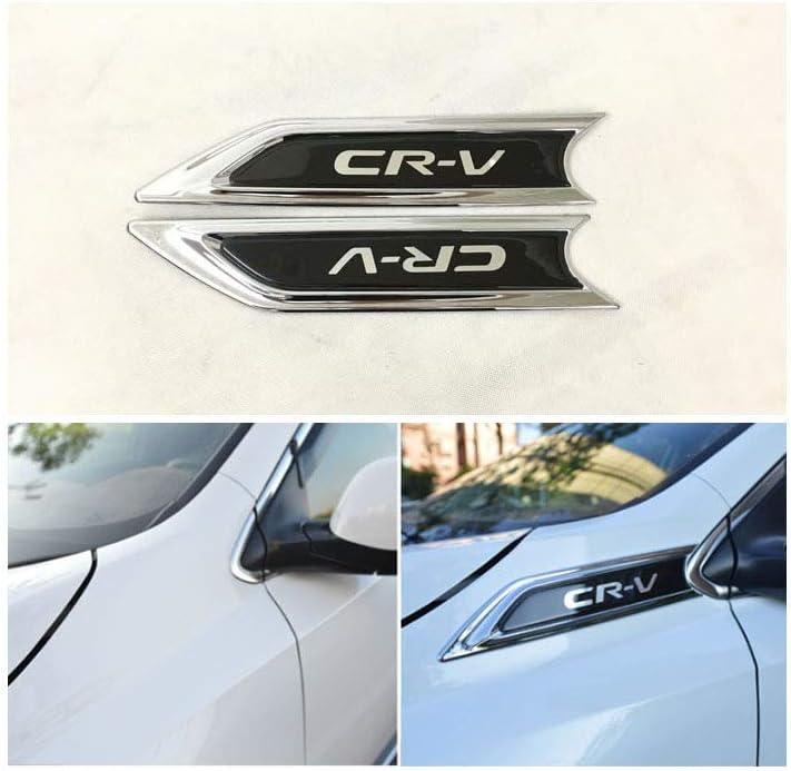 Yp Emblema Cromado para cap/ó Lateral ABS para Honda CRV 2017-2018