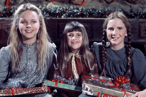 Melissa Gilbert, Melissa Sue Anderson, Lindsay Greenbush and Sidney Greenbush in Little House on the Prairie 24x36 Poster (Melissa Anderson From Little House On The Prairie)