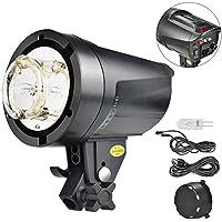 UTEBIT Strobe Light 180W 5600K Monolight Studios Lights Bowens Mount Photo Flash Lightning Kit for Portraits Studio and Photography Flashlights