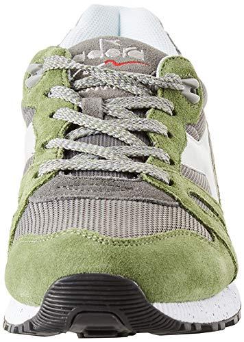 Homme Femme Diadora Pour N9000 gargoyle C7741 Multicolore Et Speckled loden Green Sneakers qBYwYxnCrI