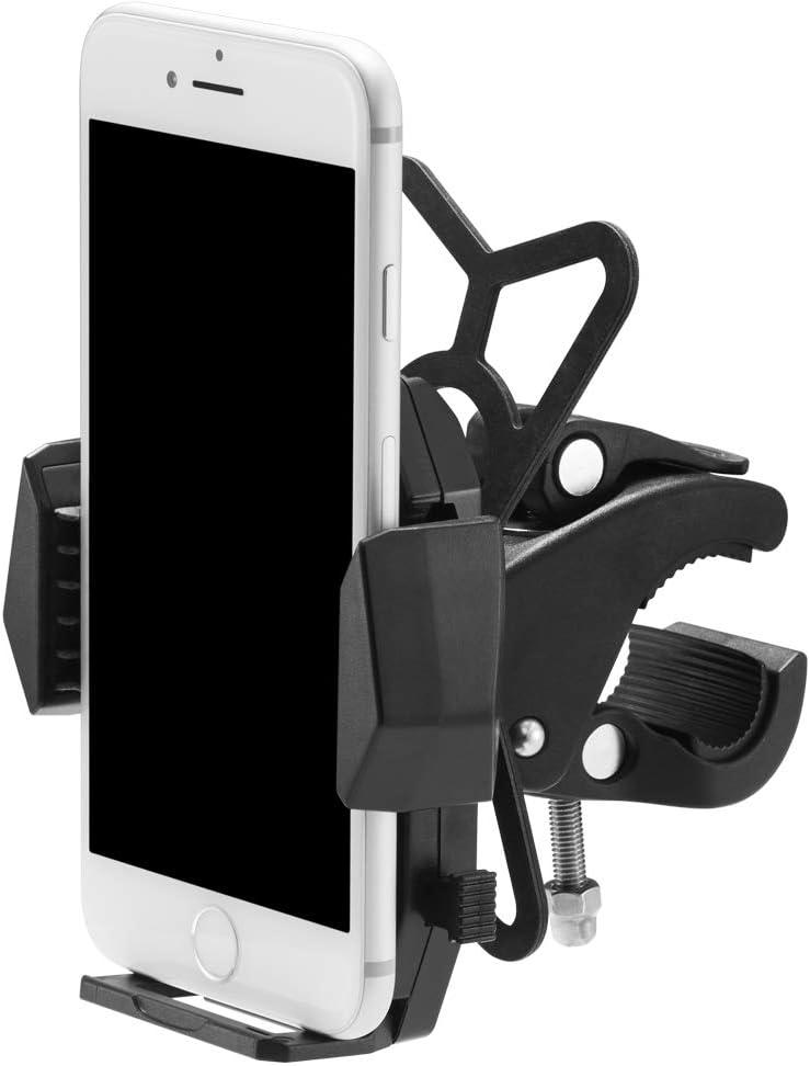 Spigen Velo Bike Phone Mount Holder Universal Bike Mount Motorcycle Phone Mount Stroller Mount Compatible with Most Smartphones