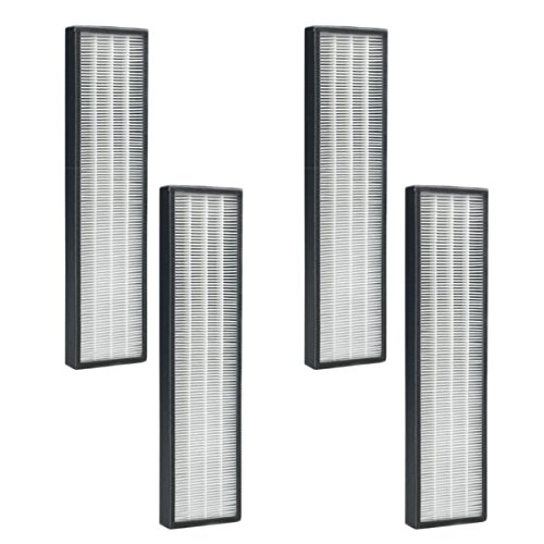 True HEPA Replacement For GermGuardian filter C (FLT5250 / FLT5250PT) For AC5000 Series Air Purifiers (Qty 4)