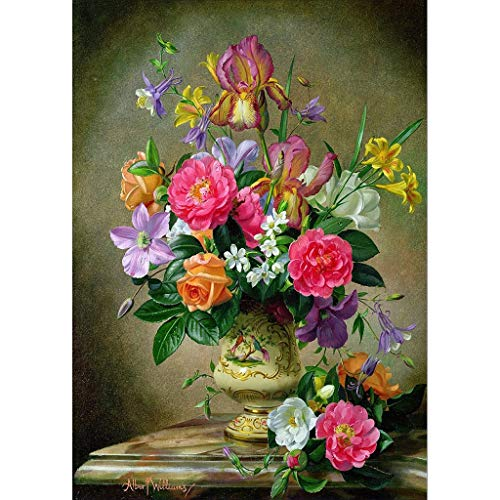 OrchidAmor Embroidery Paintings Rhinestone Pasted DIY Diamond Painting Cross Stitch 2019]()