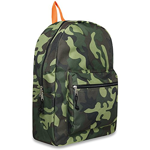 "17"" Trailmaker Backpack Bookbag- urban camo"