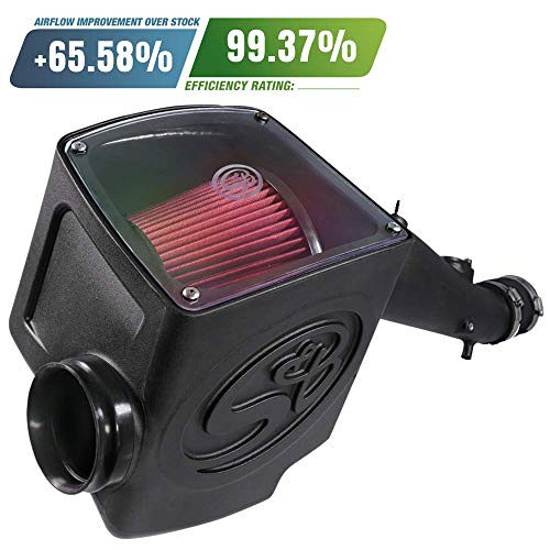 S&B Filters 75-5095 Cold Air Intake for 2005-2011 Toyota Tacoma 4.0L (Oiled Cleanable, 8-ply Cotton Filter) - Diesel Tacoma Toyota