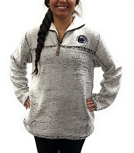 Penn State Nittany Lions Poodle Jacket; 1/4 Zipper University Apparel Clothing