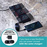 Unravel 3 in 1 Wireless Charger Multiple Phones 10W