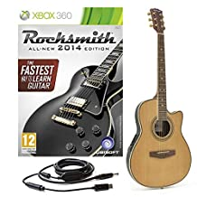 Rocksmith 2014 Xbox 360 + Round Back Electro Acoustic Guitar