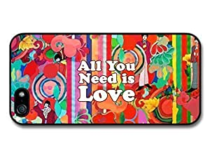AMAF ? Accessories All You Need Is Love John Lennon The Beatles Quote Illustration Background case for iPhone 6 plus
