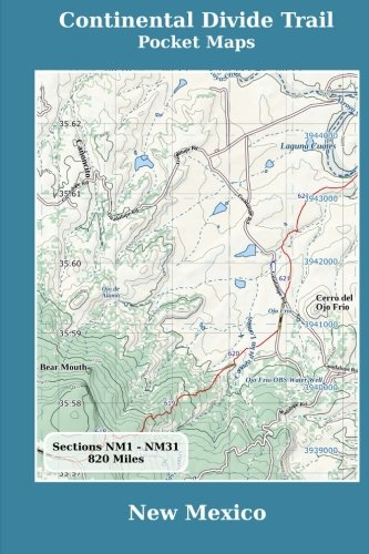 Continental Divide Trail Pocket Maps - New Mexico