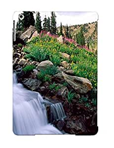 Bcrbfj-5896-mcgottd Dionnecortez Rushing Waters Ofpring Grand Teton National Park Wyoming Durable Ipad Air Tpu Flexible Soft Case With Design