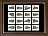 ''British Steam Locomotives'' Framed Card Set