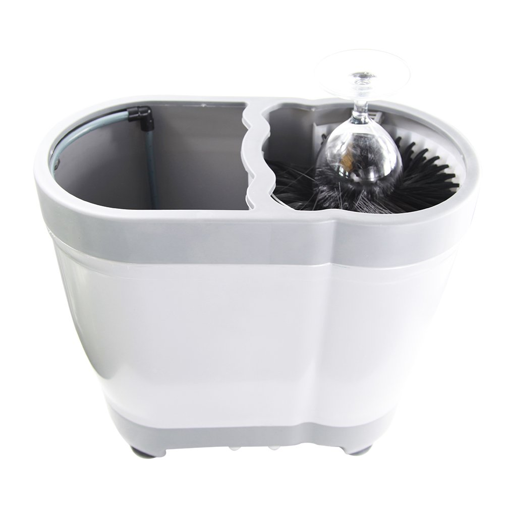 YBB Portable Professional Pitcher Rinser Bar Glass Washer Cup Washer Plastic Washer by YBB