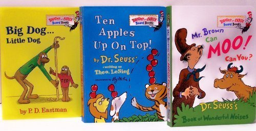 Mr. Brown Can Moo! Can You? / Ten Apples Up On Top / Big Dog Little Dog (Bright and Early Board Book