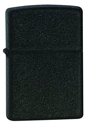 Zippo Black Crackle Lighter (Black Crackle Lighter)