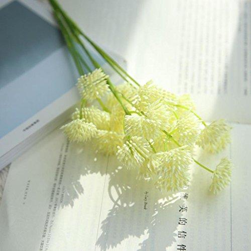 Inverlee 1pcs artificial flowers silk dandelion floral fake artificial flowers silk dandelion floral mightylinksfo