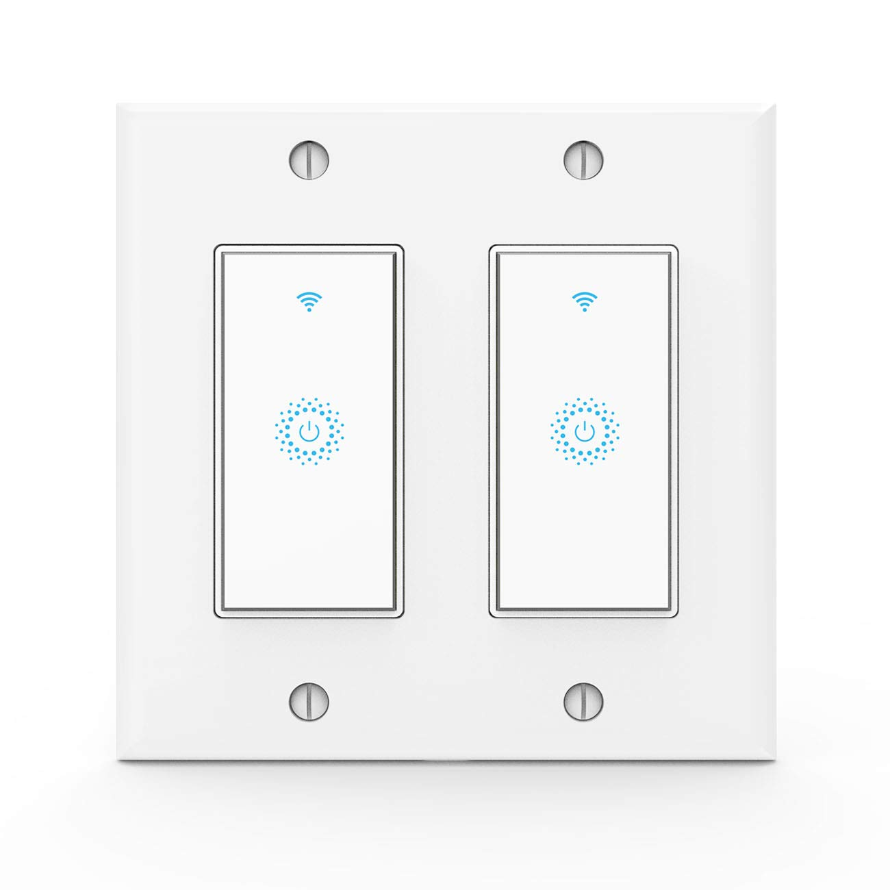 Top 13 Smart Home Light Switch 2018 Wiring A Bulb To 2 Review Wifi Switchwork With Alexagoogle Wireless Controlneed White Neutral Wire No Hub2 Gang