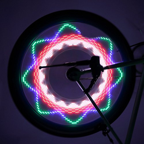 Bicycle Rim Lights,OUTAD Waterproof 30-LED Bicycle Bike ...