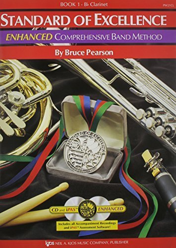 Standard of Excellence, Book 1: Enhanced Comprehensive Band Method for Clarinet. by Bruce Pearson (2004-10-10)