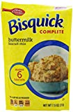Betty Crocker Bisquick Complete Biscuit Mix, Buttermilk, 7.75 Oz Bag (Pack of 9)