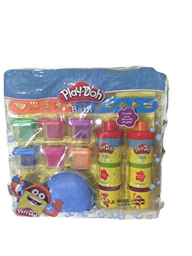 Play-Doh Fun In The Tub Bath Pack 6 colors of moldable soap and 2 body wash t