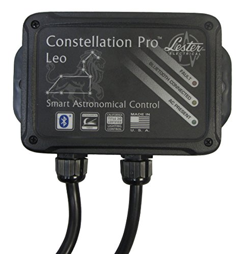Outdoor Bluetooth Wireless Smart Timer/Switch/Plug, Astronomical, Heavy Duty, Made in the USA by Constellation Pro Leo