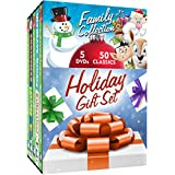 Holiday Gift Set: Holiday Family Collection - Christmas is Here Again - A Chance of Snow - A Different Kind of Christmas - Jack Frost - Rudolph the Red-Nosed Reindeer - Santa Claus - Richard Scarry - Heathcliff - Sabrina - Archie + many more!