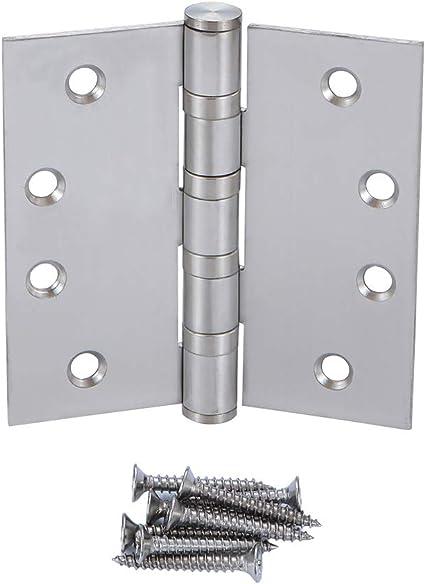 316 Stainless Steel T Type Hinge 151/×75/×4.5 Thickened Home Door Gate Accessories Wear Resistant Door Hinge Long Service Life