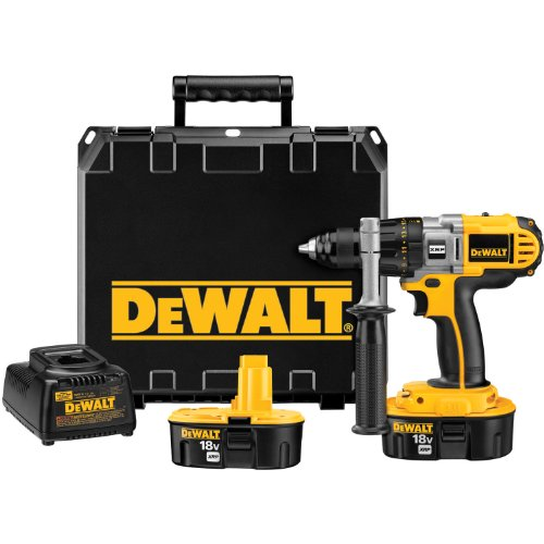 Factory-Reconditioned DEWALT DCD940KXR 1/2-Inch Variable Speed Reversible Drill Kit by DEWALT
