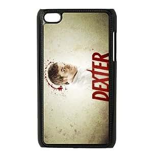 Dexter Blood iPod Touch 4 Case Black TPU Phone Case SV_287821