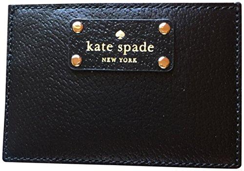 Kate-Spade-Stacy-Graham-Card-Case-Wallet-Black