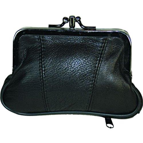Leather Change Purse Black Y062 (Redeemed Wallet)