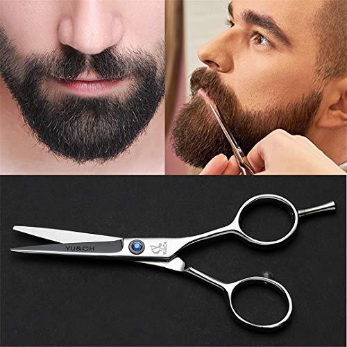 Beard Scissor Stainless Steel Sliver Mini Size Home Styling Eyebrow Scissor Mustache Shaving Tools For Hairdresser