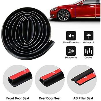 Amazon com: BASENOR Tesla Model 3 Door Seal Kit Soundproof