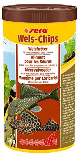 (Sera 508 Catfish Chips 13.4 oz 1.000 ml Pet Food, One Size )