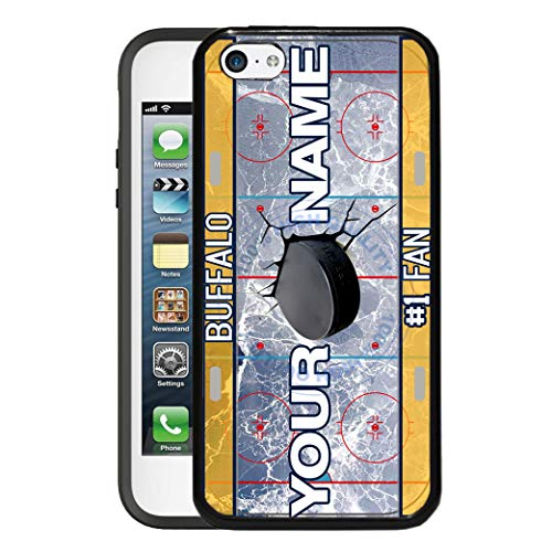 BRGiftShop Customize Your Own Hockey Team Buffalo Rubber Phone Case for Apple iPod Touch 5th & 6th Generation