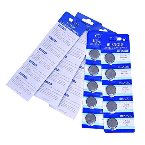 CR2032 Lithium Battery 3 Volt Coin Button Cell