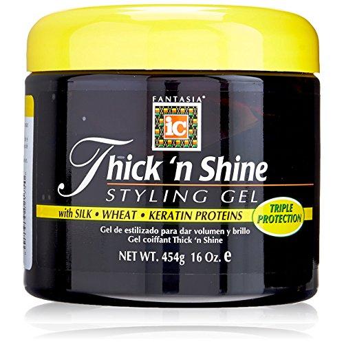 Fantasia Thick N Shine Stay Styling Gel, 16 (Growing Hair Gel)