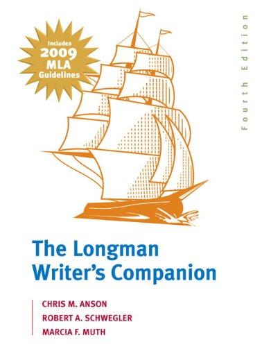 The Longman Writer's Companion: MLA Update Edition (4th Edition)