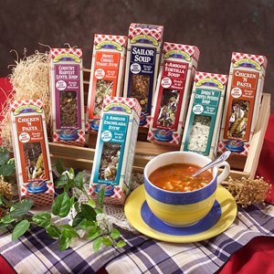 7 Soup Sampler Gourmet Gift Set (Gift Soup)